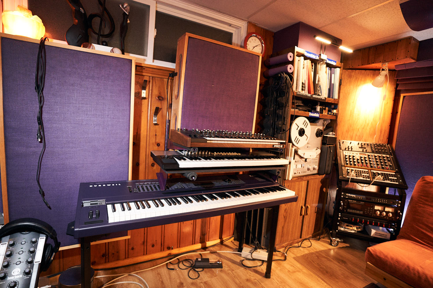 Keyboards and synths for music production