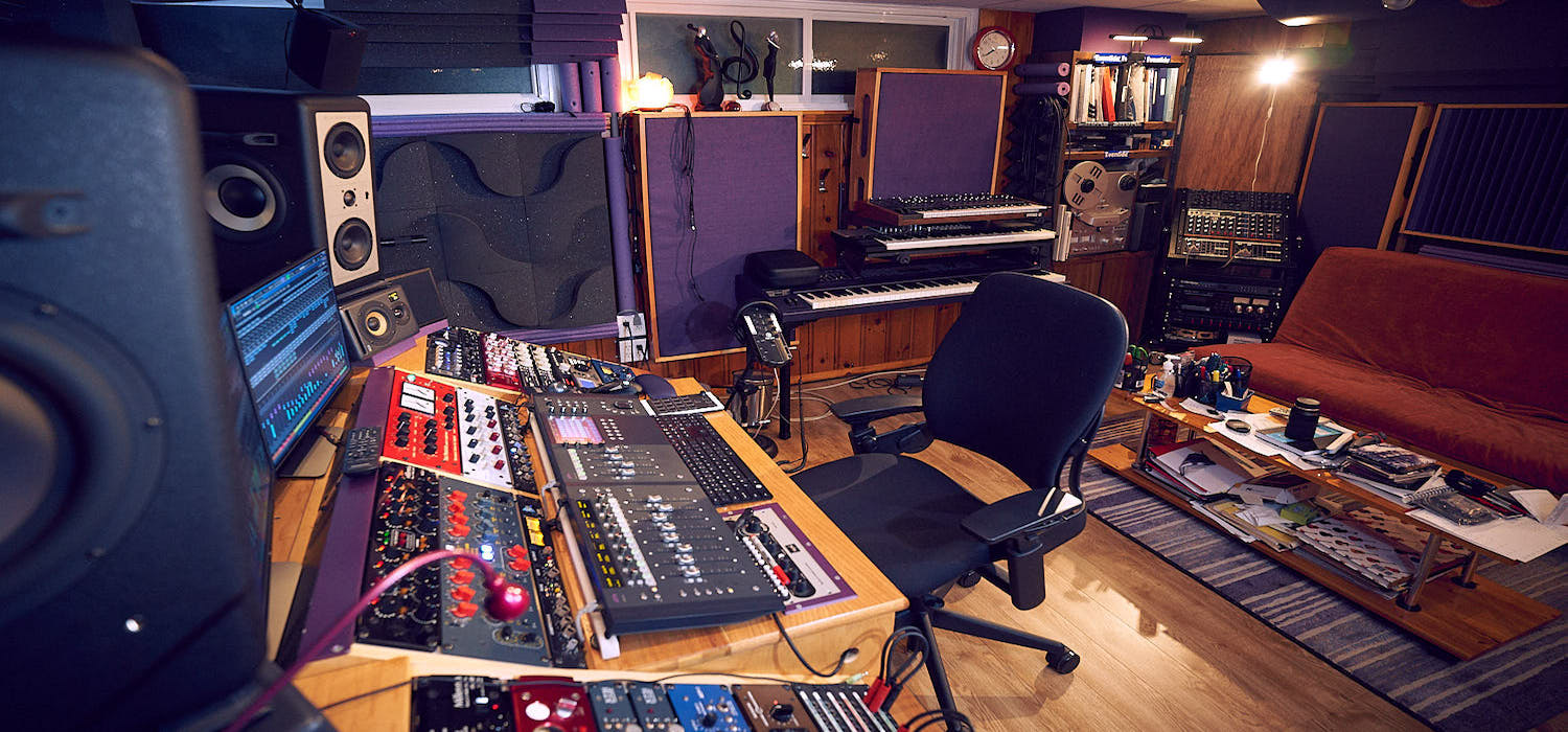 The room where most of the studio services happen